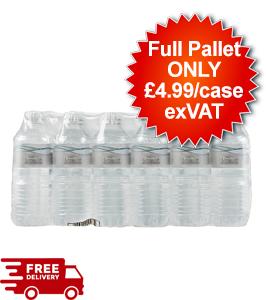 84 Cases - Decantae Mineral Water - Still 24x500ml - Full Pallet