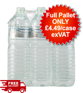 112 Cases - Decantae Mineral Water - Still 6x1.5l - Full Pallet