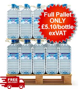 60 Bottles - 15L Justeau Spring Water - Full Pallet